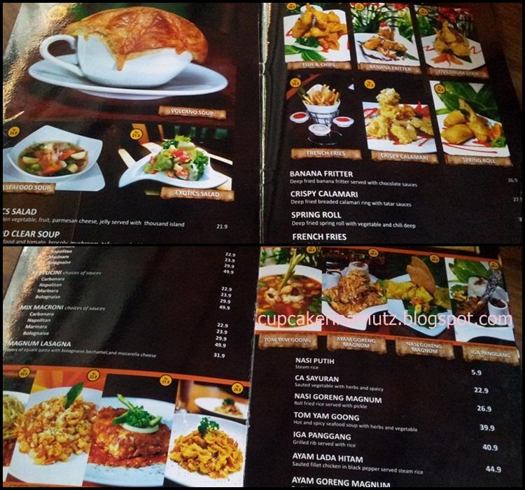 Kuliner jogja ambarukmo magnum resto rina chabbymutz for Z kitchen jogja menu