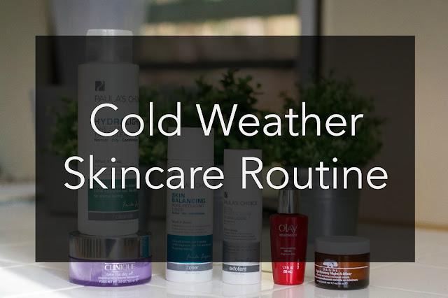 skincare, paulas choice, skincare review, caroline hirons, cold weather skin, winter skincare, dry skin routine, sephora, origins, clinique, olay, toner, acid