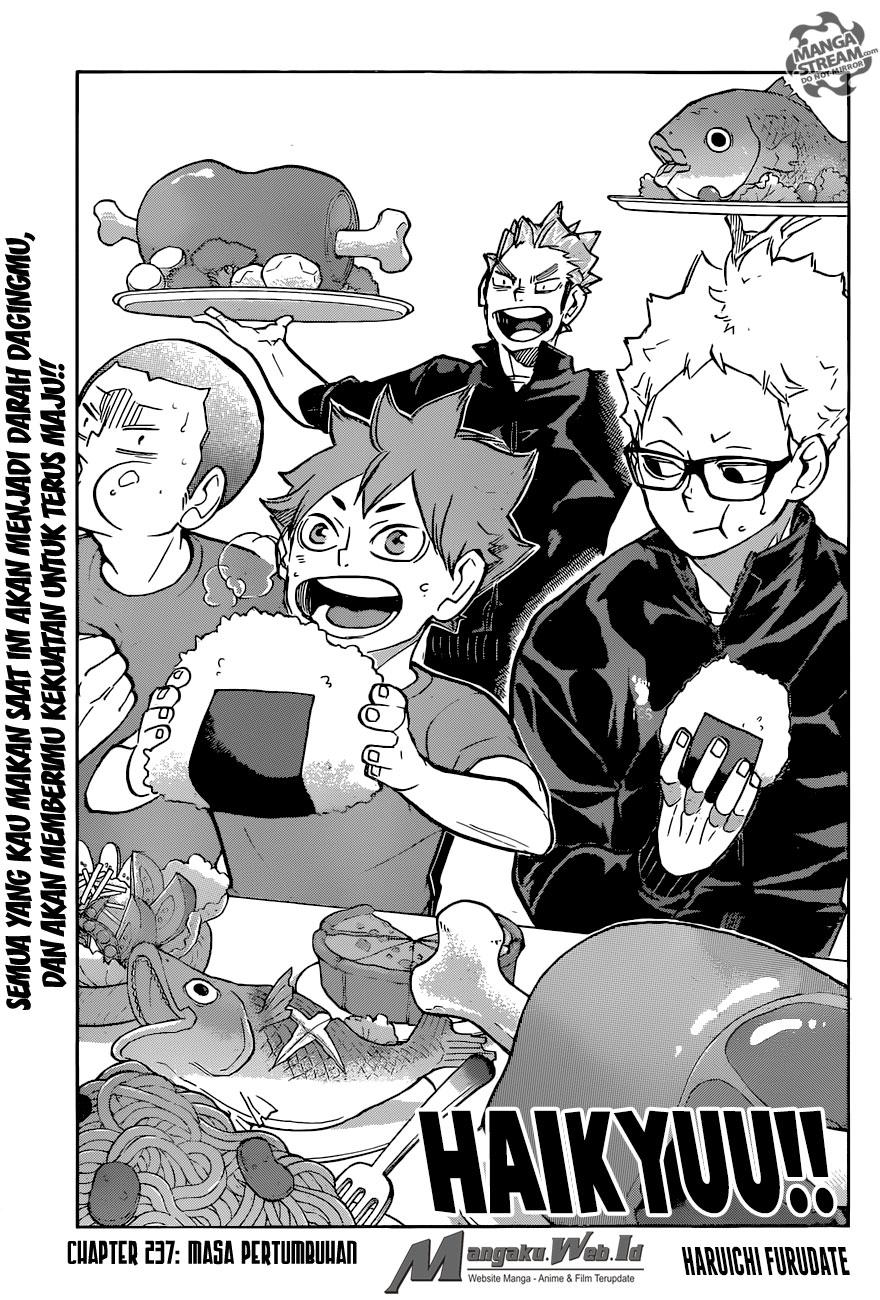 Haikyuu!! Chapter 237-1