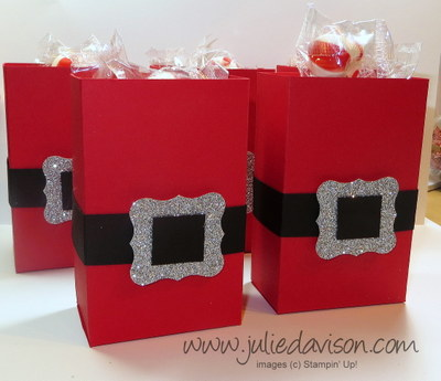 http://juliedavison.blogspot.com/2014/12/santa-half-sheet-treat-box-tutorial-new.html