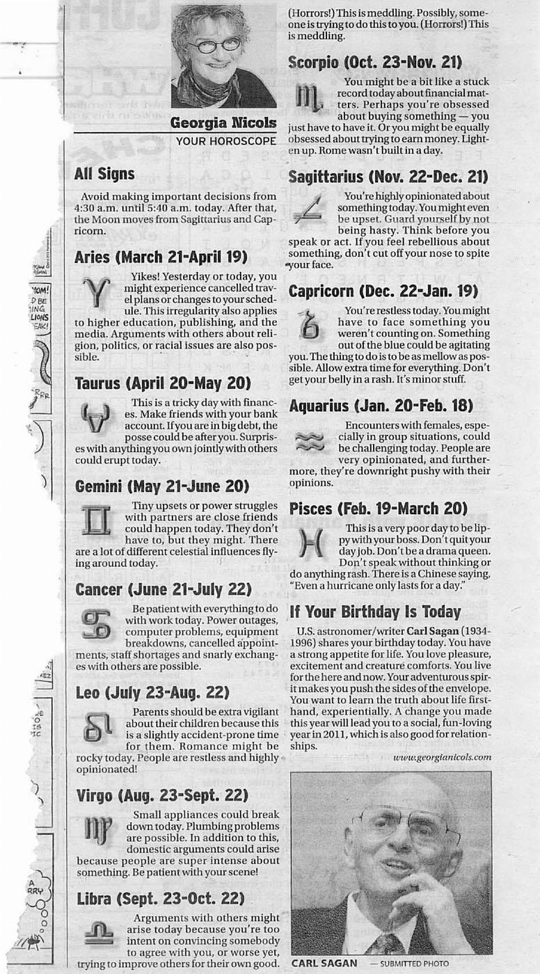 horoscope essay Free horoscopes: get your daily horoscope, love horoscope, weekly horoscope, monthly horoscope, love astrology, career astrology.