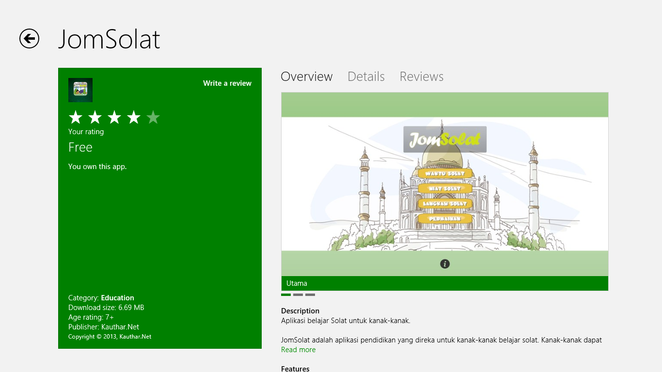 jomsolatwindows8 01 JomSolat di Windows Store
