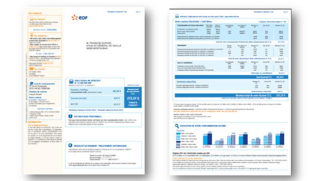 France la facture edf fait peau neuve avec sa nouvelle version actu - Edf fr rubrique facture ...