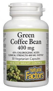natural factors green bean coffee extract