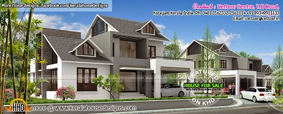 Bouganvilla house on Sale at Kottayam, Kerala