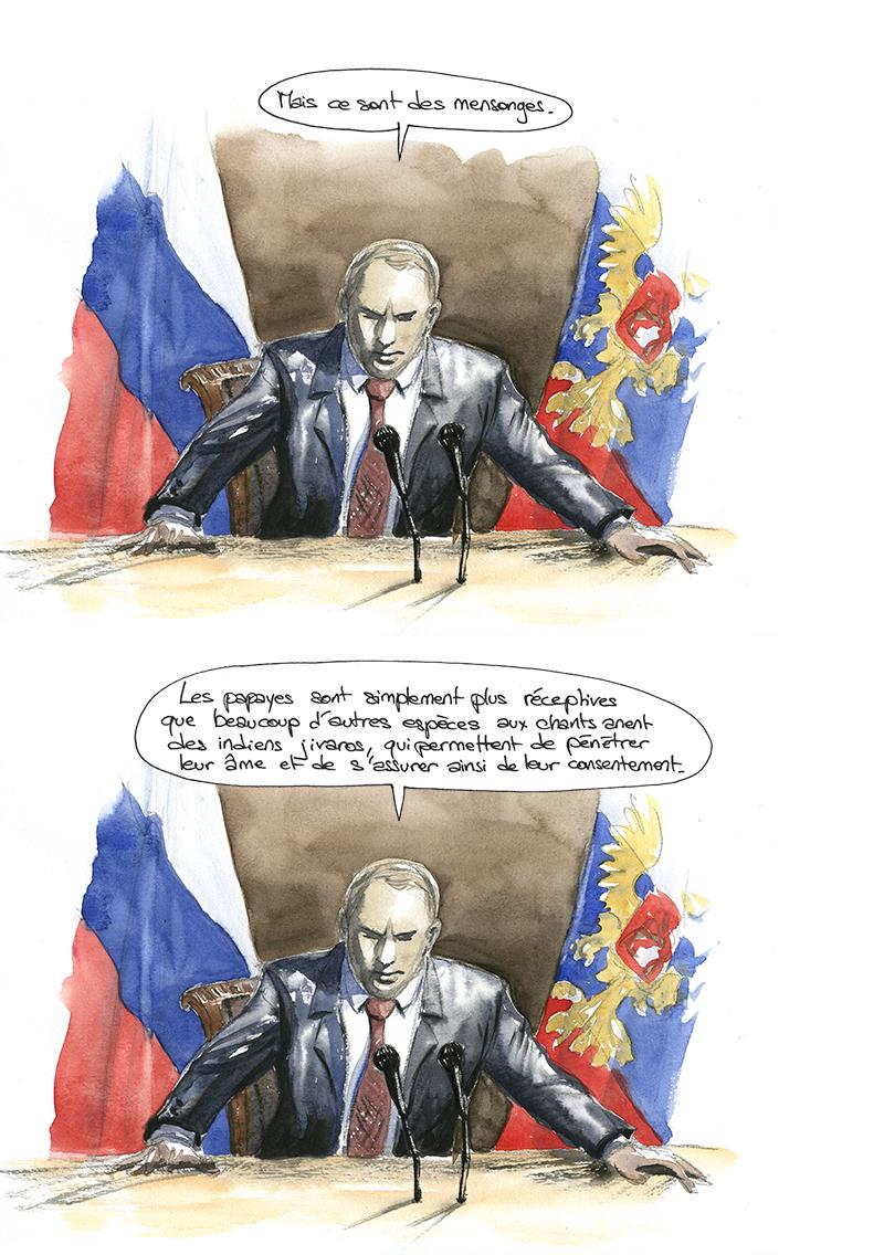 Vladimir poutine, anent déviant