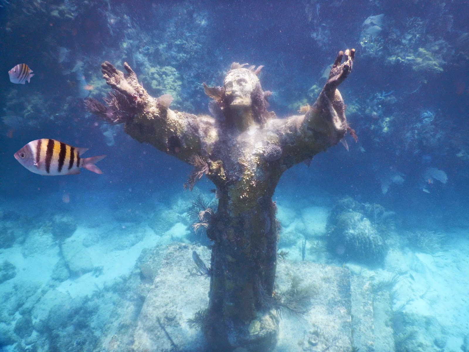 Christ Statue Key Largo