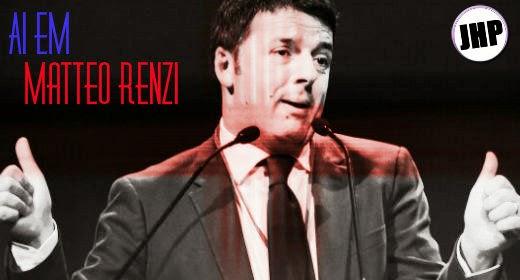 Matteo Renzi Mister Bean