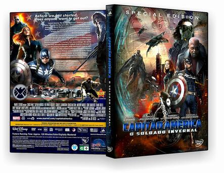 Capitão América 2 O Soldado Invernal DVD-R