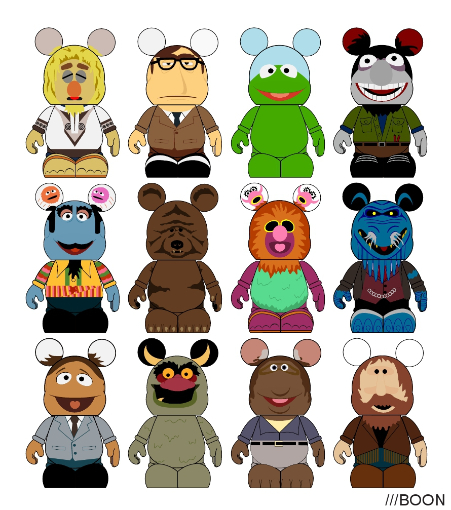 Mike baboon design muppet vinylmation series 3 proposal gamestrikefo Image collections