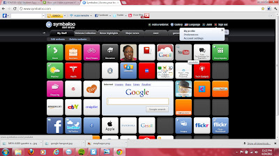 Symbaloo Screen shot