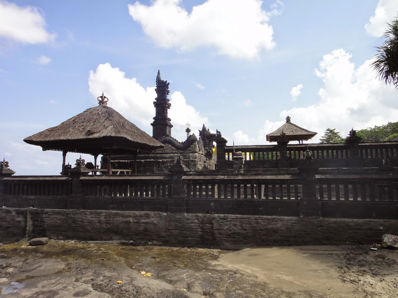 Religious ceremony at Pura Tanah Lot Bali Island