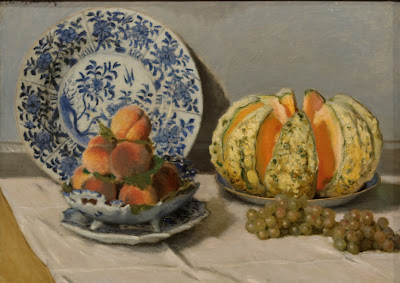 Claude Monet - Nature morte au melon,1872.