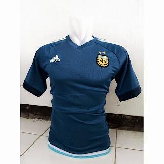 gambar photo kamera Jersey Argentina away terbaru copa amerika 2015