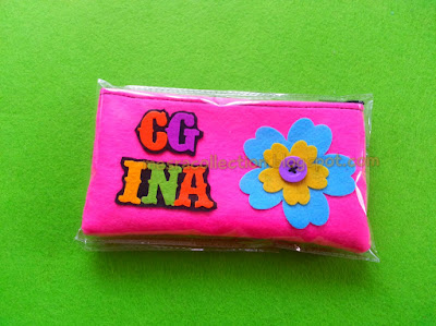 kotak pensil pink murah