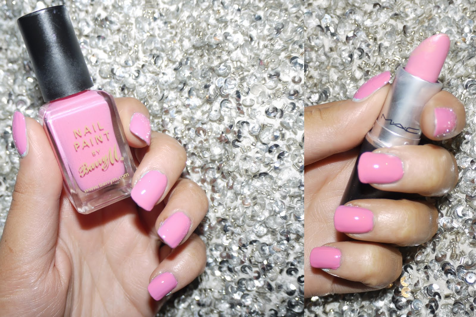 BELLES BOUTIQUE   UK BEAUTY & MUMMY BLOG: Barry M Bright Pink Nails ...
