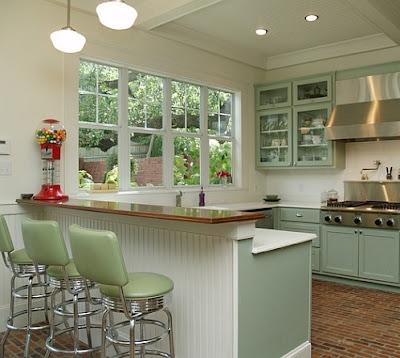 Desain Rumah Minimalis Bergaya Retro
