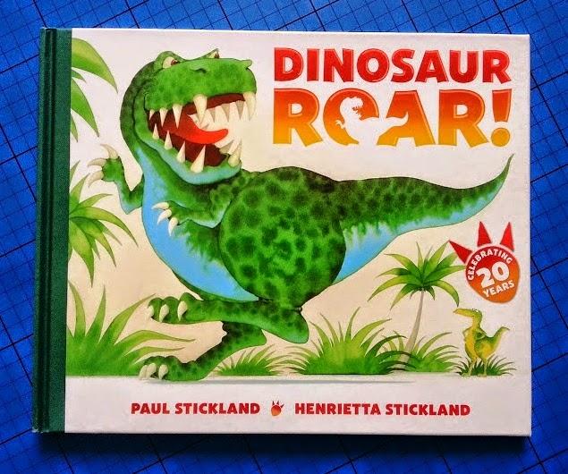 Dinosaur Roar 20th anniversary edition cover