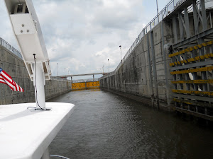 Port Mayaca Lock--the entrance to Lake Okeechobee.