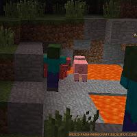 Hungry Zombie Mod para Minecraft 1.7.10