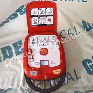 agen defibrilator portable
