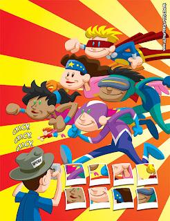 Ilustração Revista Recreio - por Alexander Santos