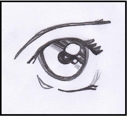 Arte semplice e poi gli occhi del viso umano e l for Disegni facili da disegnare a mano libera