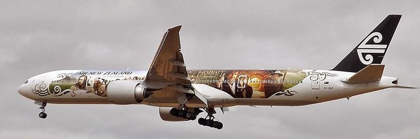 Avião de O Hobbit - Aviões temáticos para fãs
