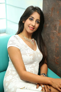 Actress Sanjjanaa  Pictures in Short Dress at Sapphire Spa Launch  23