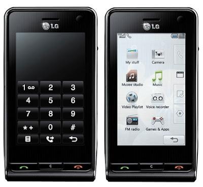 new LG KU990 Viewty