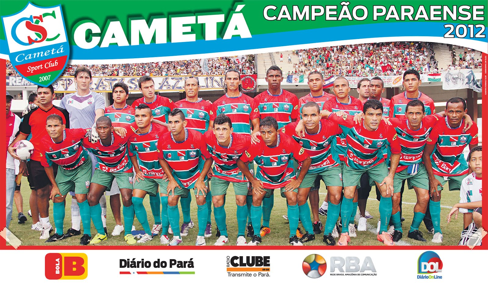 O outro lado da not cia camet campe o paraense 2012 for Cameta com