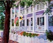 Chadwick House circa 1858