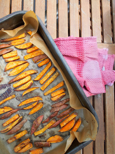 Recipe: Baked Sweet Potato Fries!