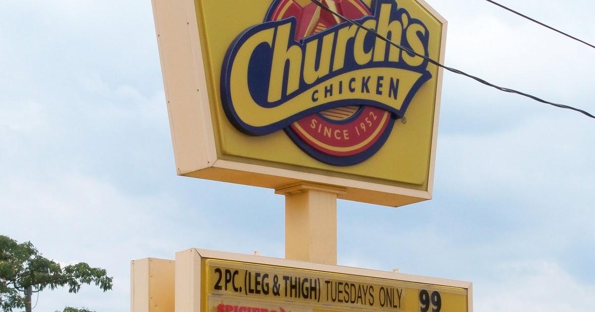 Store CHURCHS CHICKEN FOREST PARK GEORGIA Jonesboro Road Churchs Fried Chicken Fast Food Restaurant Clayton County Forest Park GA