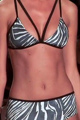 White Sands zebra bikini