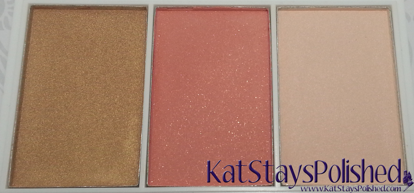 e.l.f. Disney's Frozen Elsa Snow and Ice Icicle Face Palette | Kat Stays Polished