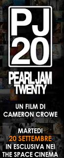 Pearl Jam Twenty al cinema