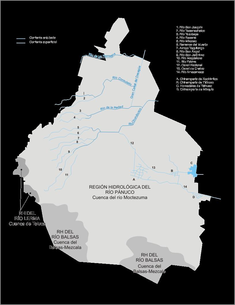 Hidrografia Del Estado De Mexico