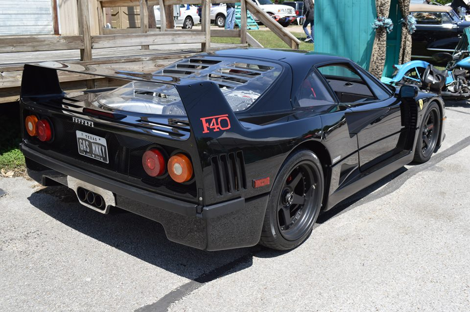 Gas Monkey Garage F40 Takes Best of Show at Texas Concours d'Elegance