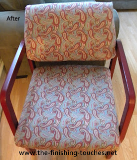 side chair makeover