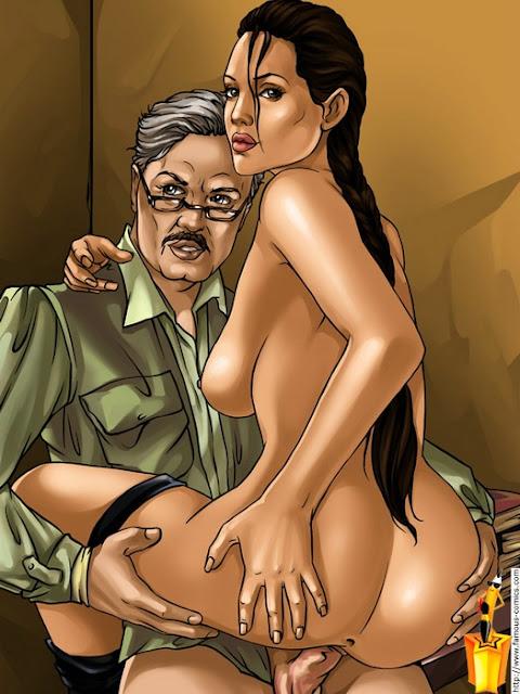 Lara croft historias de sexo