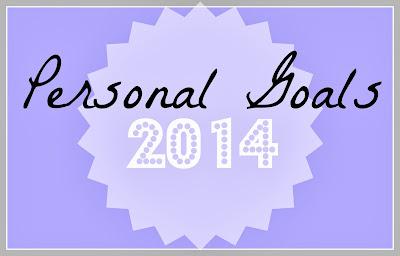 Personal Goals 2014