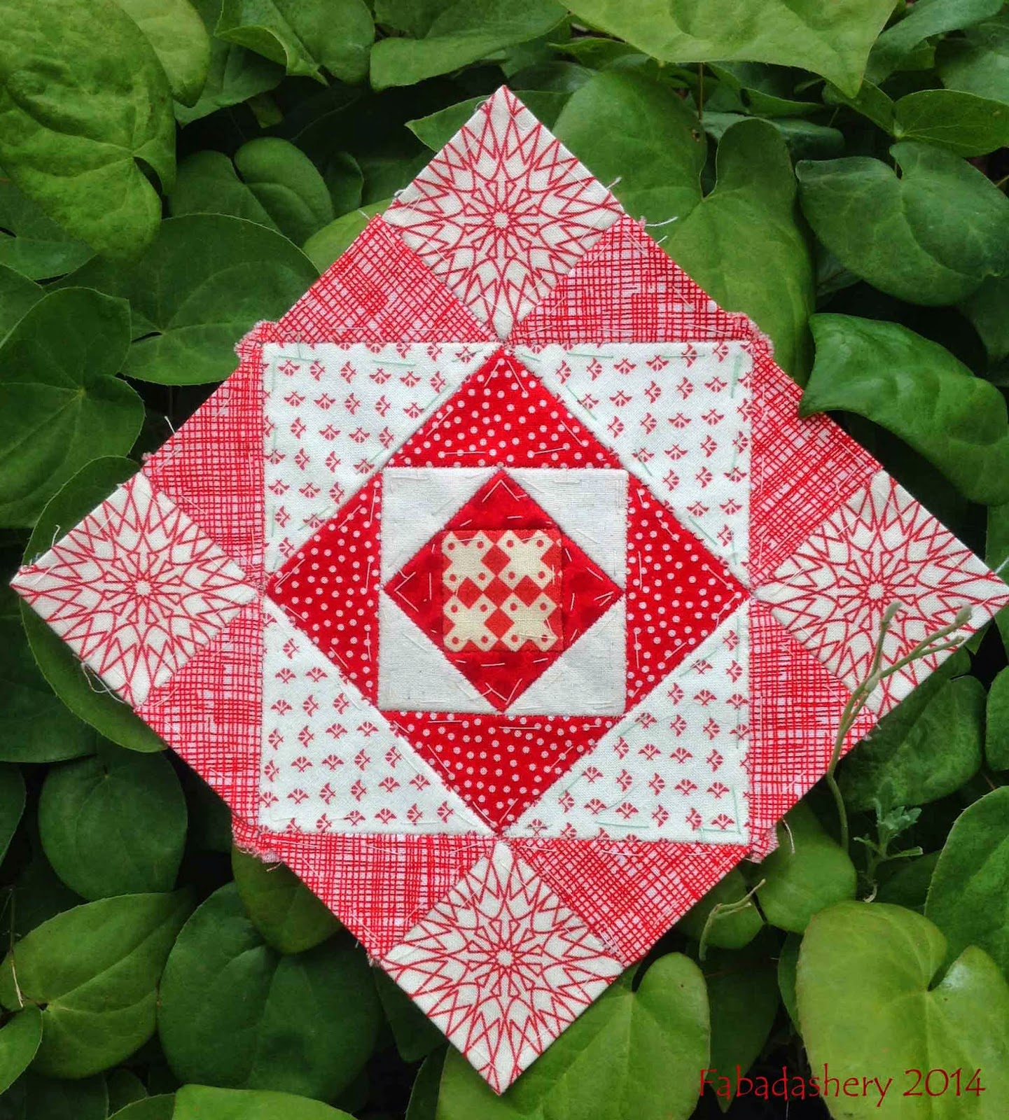 Nearly Insane Quilt - Block 82