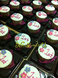 Labuan Cupcakes in individual casing for doorgift