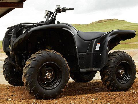 2013 Yamaha pictures Grizzly 700 FI Auto 4x4 EPS SE ATV. 480x360 pixels