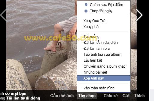 Cách xóa hình ảnh trên Facebook, xóa cả Album trong FB