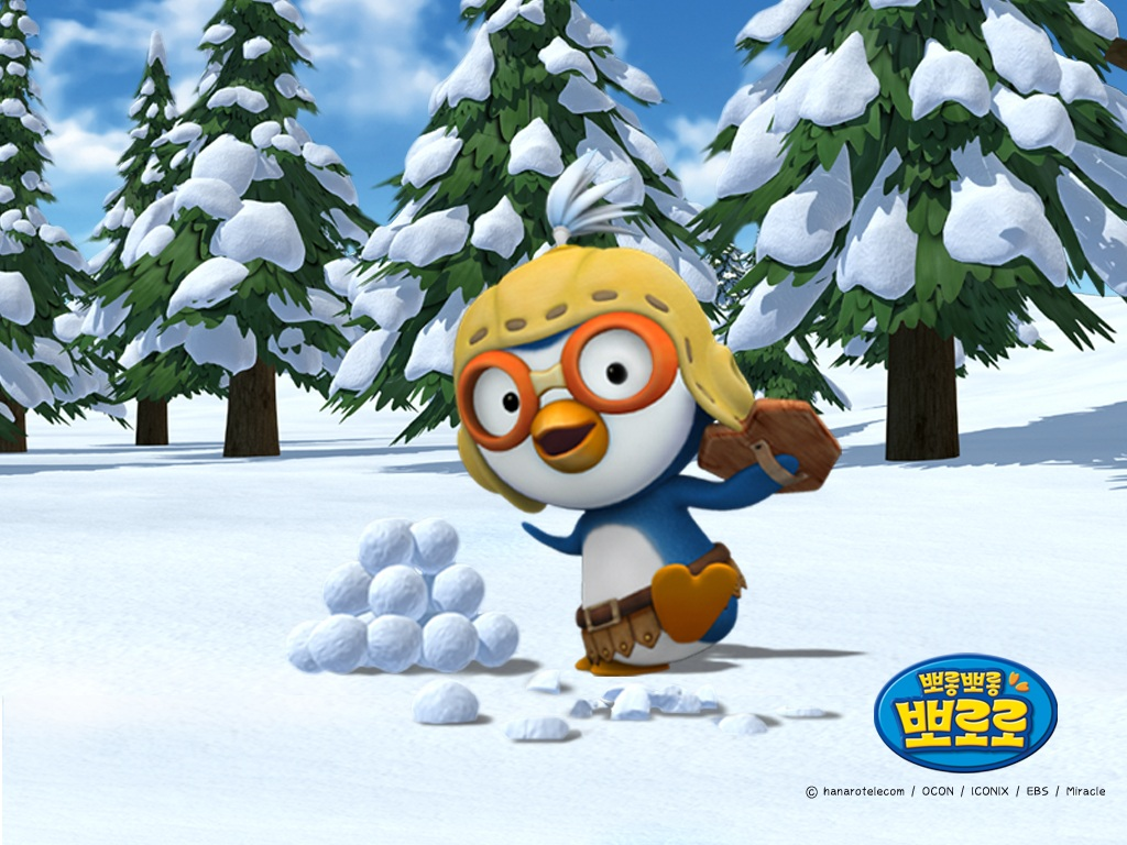 Tags pororo the little penguin background desktop wallpapers cartoon wallpaper pororo the little penguin thecheapjerseys
