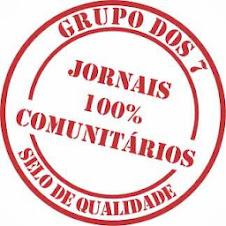 FILIADO AO GRUPO DOS 7 JORNAIS 100% COMUNITÁRIOS .