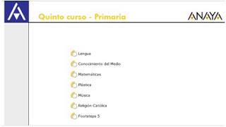 Actividades interactiva 5º primaria