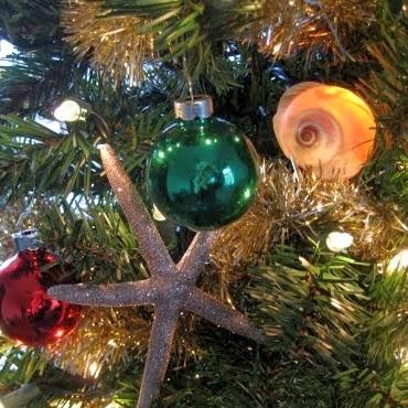 seashell Christmas light